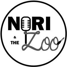 Logo: Nori and the Zoo - music band