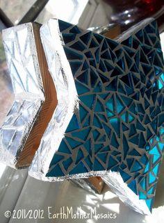 Mosaic Jewelry Box Star Blue Home Decor by earthmothermosaics, $38.52