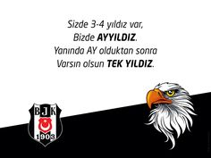 BEŞİKTAŞ AYYILDIZ Black Eagle, Keep Calm And Love, 1, Black And White, Sports, Life, Quote, Button Up Shirts, Hs Sports