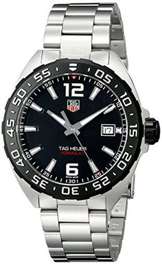 TAG Heuer Men's WAZ1110.BA0875 Stainless Steel Watch Check https://www.carrywatches.com