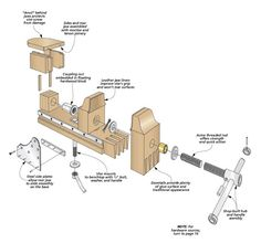 Multipurpose Auxiliary Vise | Woodsmith Plans