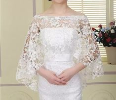 Charming wedding coat white lace wedding boleros 3 4 sleeves bridal shawls jackets wedding accessories for wedding dresses cheap in wedding jackets wrap from weddings events on aliexpress com alibaba group Wedding Coat, Cheap Wedding Dress, Wedding Gowns, Lace Wedding, Wedding Bolero, Wedding Wraps, Wedding White, Lace Bridal, Bridal Shawl