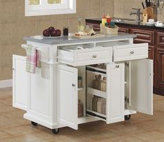Are you in search of a small kitchen island with seating? Then check out our pick of small kitchen island ideas with seating! Movable Island Kitchen, Mobile Kitchen Island, Kitchen Island Storage, Kitchen Ikea, Kitchen Island Cart, Kitchen Island With Seating, Diy Kitchen Cabinets, Kitchen Cabinet Design, New Kitchen