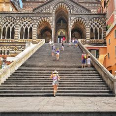 Throwback to exploring Amalfi in August if you need any holiday inspiration my post all about the Amalfi coast is live on my blog. This is the Amalfi church that we visited before starting the Walk of the Gods