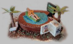 "Rob's ""60  not out""  cake! by Torki's Sugar Art, via Flickr"