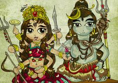lord shiva paintings - Google Search