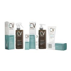 The entire line of CV Skinlabs, made to revive your skin no matter how deep the damage is.