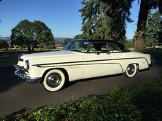 1955 Chrysler 2DR Hardtop  Maintenance/restoration of old/vintage vehicles: the material for new cogs/casters/gears/pads could be cast polyamide which I (Cast polyamide) can produce. My contact: tatjana.alic@windowslive.com