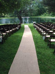 Beautiful setting for a wedding