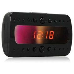 Despertador Espía Wifi. Visión Nocturna