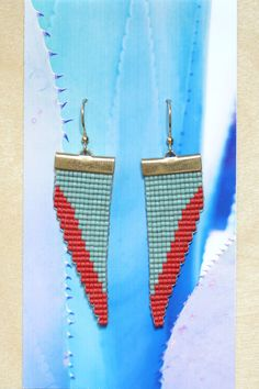 Loom Beaded Earrings