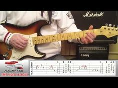 How To Play Boom Boom by John Lee Hooker On Guitar (main riff + TAB) - YouTube