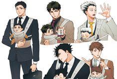 Haikyuu Manga, Haikyuu Funny, Haikyuu Fanart, Anime Chibi, 5 Anime, Fanarts Anime, Haikyuu Ushijima, Ushijima Wakatoshi, Haikyuu Karasuno
