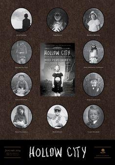Recensione libro Hollow City (Miss Peregrine's peculiar children di Ransom riggs I Love Books, Good Books, My Books, Hollow City, City Poster, Miss Peregrine's Peculiar Children, Peregrine's Home For Peculiars, Miss Peregrines Home For Peculiar, Entertainment Weekly