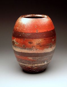 Bily Brown Sm. Balloon Vase at MudFire Gallery