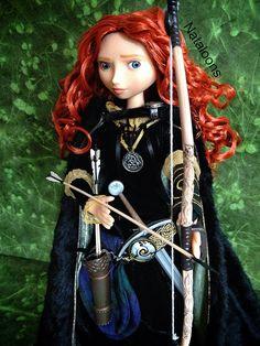 Limited Edition Merida Doll by Nataloons™, via Flickr