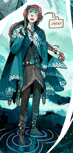 Reynir, Stand Still Stay Silent webcomic Don't even care it's a crossplay, I need something warm for Katsu!