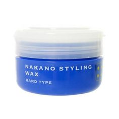 Nakano Styling Wax Series has seven line-ups and Nakano Styling Wax 4suits all types of hairstyles.Nakano wax is widely popular in Japan, offeringthree brands with 29 kinds of waxes. It also has UV protection and moisturizing effect.  Producer: Nakano Country of manufacturing: Japan Weight: 90g Hold: Hard type