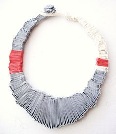 sol marsico textile necklace