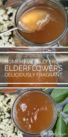 Easy,delicious elderflower jelly recipe.