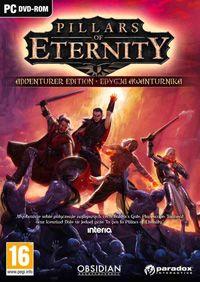 Pillars of Eternity to gra z gatunku cRPG stworzona przez studio Obsidian Entertainment. Gracz kieruje poczynaniami bohatera, który razem z dołączanymi do drużyny postaciami niezależnymi przemierza rozległy, fantastyczny świat. Produkcja powstała przy wsparciu finansowym społeczności skupionej wokół platformy Kickstarter, a w prace zaangażowani zostali m.in. twórcy serii Baldur's Gate, Icewind Dale oraz Fallout.
