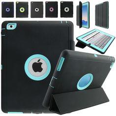 For Apple iPad 2 iPad 3 iPad 4 Retina Kids Safe Armor Shockproof Heavy Duty Silicone Hard Case