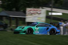 Wolf Henzler (Germany) / Brian Sellers (USA), Falken Tire Porsche 911 GT3 RSR, Road America ALMS, Elkhart Lake WI. 17 AUG 2012 (Photo by Ken Novak)