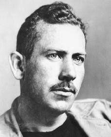"""El 27 de febrero de 1902 nace el escritor estadounidense John Steinbeck.  Las uvas de la ira (fragmento)  """" —¿No piensas en qué pasará cuando lleguemos? ¿No temes que quizá no sea tan bonito como pensamos? —No —replicó con rapidez. No lo temo. No debes hacer eso. -Yo tampoco. Es demasiado, es vivir demasiadas vidas. Delante de nosotros hay mil vidas distintas que podríamos vivir, pero cuando llegue, sólo será una. Si voy adelante en cada una de ellas, es excesivo. """""""