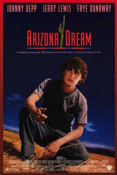 Arizona Dream is a surrealist comedy-drama 1993 film directed by Emir Kusturica and starring Johnny Depp, Jerry Lewis and Faye Dunaway. 90s Movies, Great Movies, I Movie, Johnny Depp Characters, Johnny Depp Movies, Faye Dunaway, Jerry Lewis, Local Cinema, Don Juan