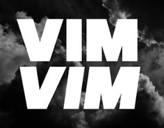 Vim SM is a free typeface inspired in strength of nature.