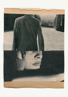 """""""Katrien de Blauwer - I do not want to disappear silently into the night """" Collages, Collage Art, Photomontage, Graphisches Design, Visual Diary, Double Exposure, Medium Art, Oeuvre D'art, Mixed Media Art"""