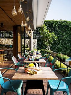 Indonesian Restaurant Lemongrass Design by Einstein & Associates