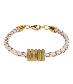 Leather and hex nuts make the perfect pair on this everyday chic bracelet for your fashionista mom from @halfunited.