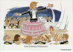 Joan Butler Classics Greeting Card - Surprise Symphony Butler, Greeting Cards, Hilarious, Classic, Anime, Art, Derby, Art Background, Anime Shows