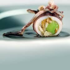 Calamars Farci ~ Stuffed Calamar .