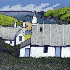 Products Archive - Page 3 of 8 - Chris Neale Landscape Artist Landscape Art, Landscape Paintings, Landscapes, Illustrations, Illustration Art, Naive Art, Print Artist, Monuments, Folk Art