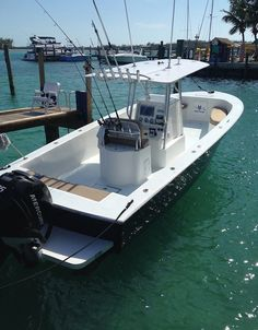 Here's Team Sharkbait's 25' Bertram before the Wahoo Smackdown in Bimini #TeamBertram #sportfishing