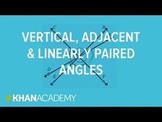 Angle relationships example | Angle types | Angles & intersecting lines | Geometry | Khan Academy
