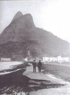 Leblon Beach, Rio, 1910