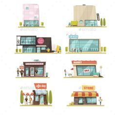 Supermarket Building Set