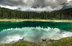 Lago di Carezza Dolomites Italy  Landscapes photo by EuropeTrotter http://rarme.com/?F9gZi