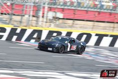 James Forbis' 2007 Chevrolet Corvette at Charlotte Motor Speedway during #DriveOPTIMA 2015