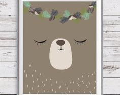 Woodland nursery art Set of 3 Instant Download от LlamaCreation