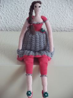 Tilda-girl   Pattern: Inge's Creaties