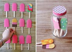 Popsicle Memory game for kids