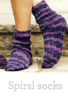 Spiral socks $$$