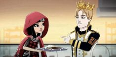 Ever After High- Cerise Hood on a family picnic with Red Riding Hood and The Wolf (mom and dad). Description from pinterest.com. I searched for this on bing.com/images