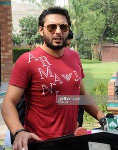 Shahid Afridi, Pakistani Models, Boom Boom, Cricket, Celebrities, Sports, Mens Tops, T Shirt, Fashion