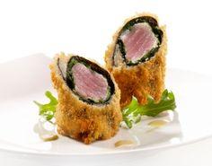Gefrituurde tonijnrol op japanse wijze