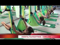 Pilates con hamaca, AéreoEssential - YouTube